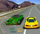 3D Sarı Araba Yarışı