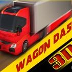 3D Vagon Yarışı