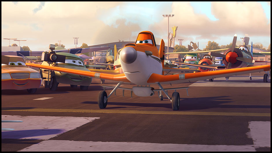 Paslı Uçak Dusty