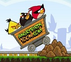 Kızgın Kuşlar Tehlikeli Demiryolu