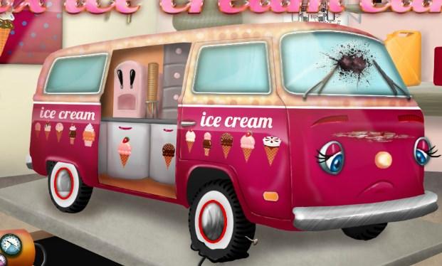 Dondurma Otob�s� Tamiri