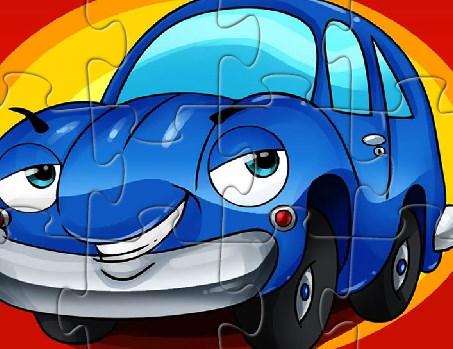 Komik Araba Yapbozu