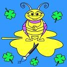 Komik Böcek Boyama