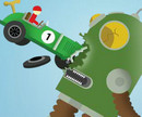 Manyak Araba Ve Robotlar