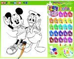 Mickey Mouse Boyama