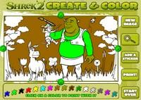 Shrek 15 Tatil Boyama
