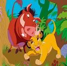 Timon Ve Pumbaa Boyama