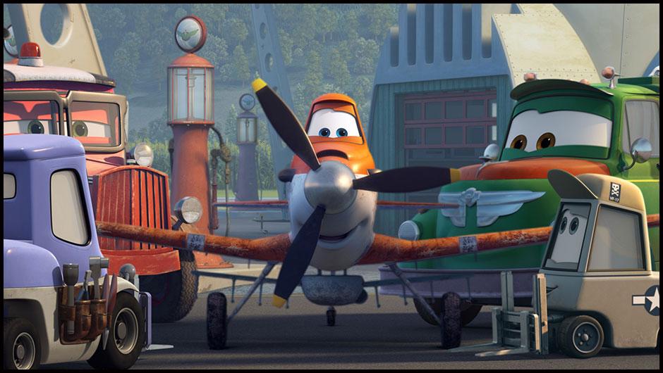 Disney Uçaklar Yapbozu 2