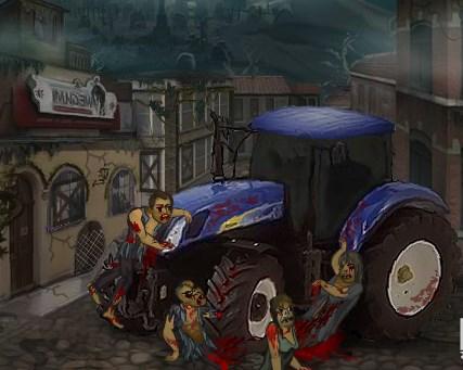 Mavi Zombi Traktörü